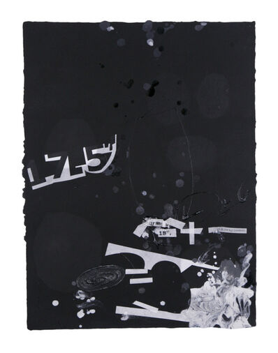 Suzanne McClelland, 'In the Black #1', 2015