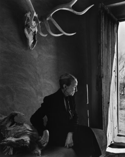 Yousuf Karsh, 'Georgia O'Keeffe', 1956