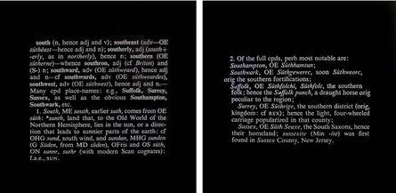 Joseph Kosuth, 'Titled (Art as Idea as Idea) (south)', 1968