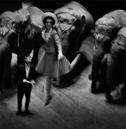 Melvin Sokolsky, 'Fly Elephants, Paris', 1965