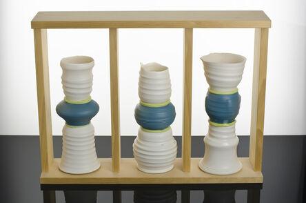 Andrew Deem, 'Three Vertical Compositions', 2017