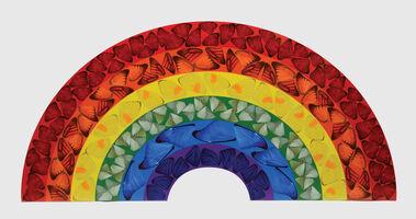 Damien Hirst, 'Butterfly Rainbow', 2020