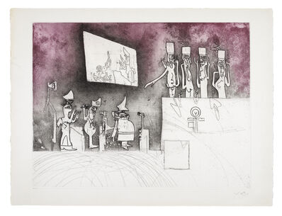 Roberto Matta, 'Judgements: Nuremberg Judgement', 1967
