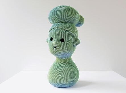 En Iwamura, 'Green Hat', 2020
