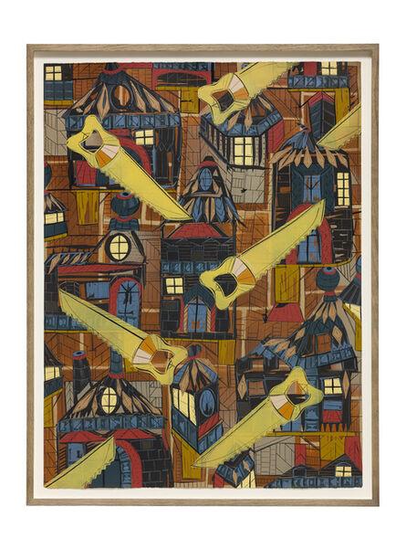 Lari Pittman, 'Found Buried: Textile for a Revolution', 2020