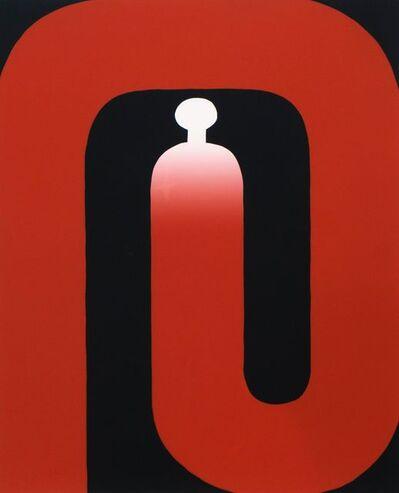 Sadamasa Motonaga, 'Red and black', 1983