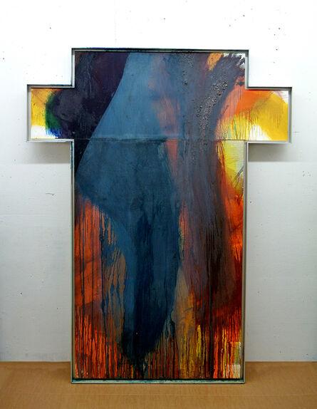 Arnulf Rainer, 'Untitled, Cross', 1989