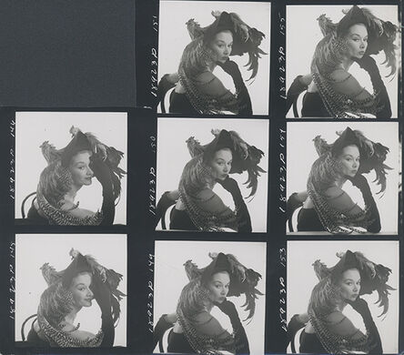 Irving Penn, 'Woman in Chicken Hat I', New York 1949