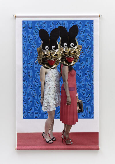 Willie Cole, 'Head over Heels (Eye Candy)', 2019