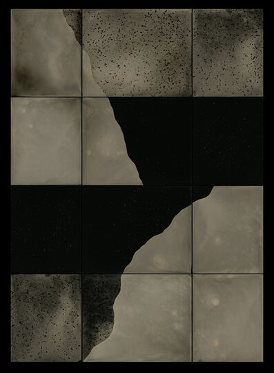 Nadezda Nikolova-Kratzer, 'Elemental Forms, Landscape Rearticulated no. 18', 2021