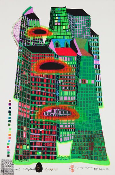 Friedensreich Hundertwasser, 'Good Morning City, Initial edition', 1969-1970