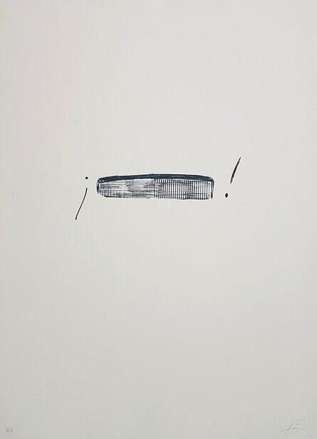 Antoni Tàpies, 'LLambrec 4', 1975
