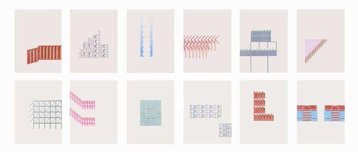 Seher Naveed, 'Studies of Fragments (12)', 2021