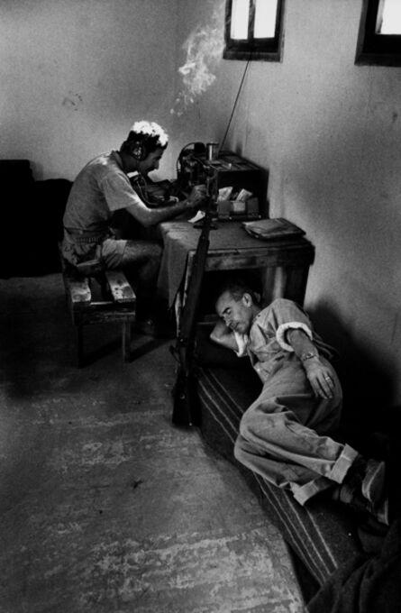 "David ""CHIM"" Seymour, 'Watch on the border, Israel', 1953"