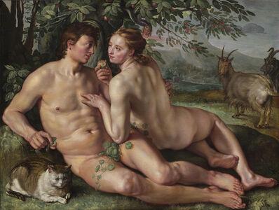 Hendrik Goltzius, 'The Fall of Man', 1616