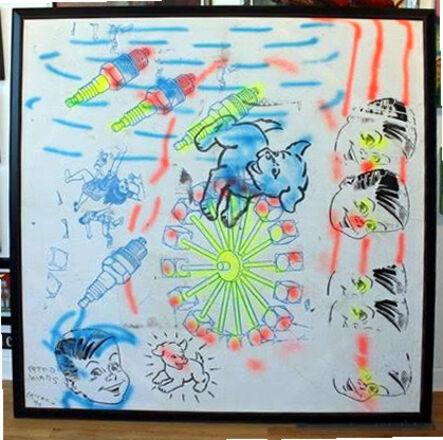 Peter Mars, 'Blue Dog', 1990