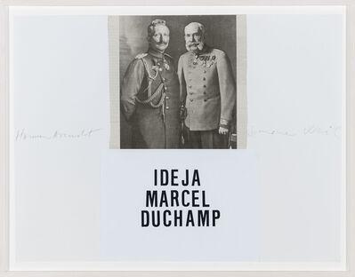Vlado Martek, 'Idea M. Duchamp 2.', 2014