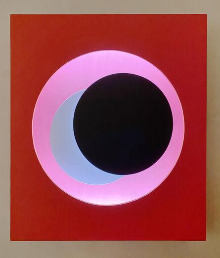 Geneviève Claisse, 'Cercle Relief Rouge', 1971-1975