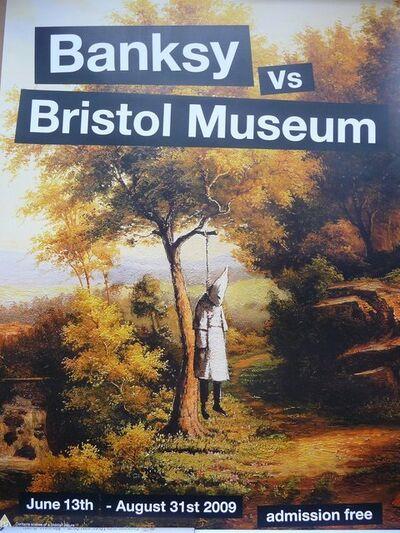 "Banksy, 'BANKSY VS BRISTOL MUSEUM ""KLANSMAN"" POSTER ', 2009"
