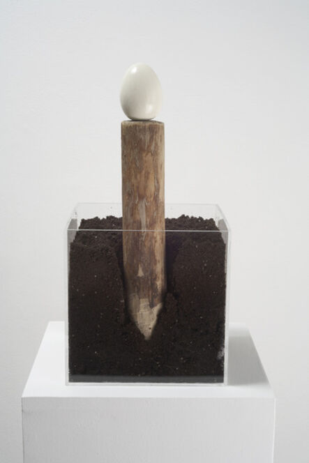 Terry Fox, 'Stake and Egg', 2007