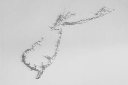Maya Lin, 'Pin River—Sandy', 2013
