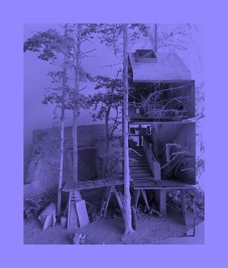 Tim Berresheim, 'Stadtmauer,Stadtranderholung und Grundschultreppenhaus in optimaler Position.', 2020