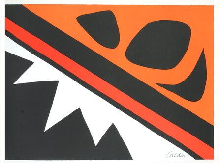Alexander Calder, 'La Grenouille et la Scie', 1974