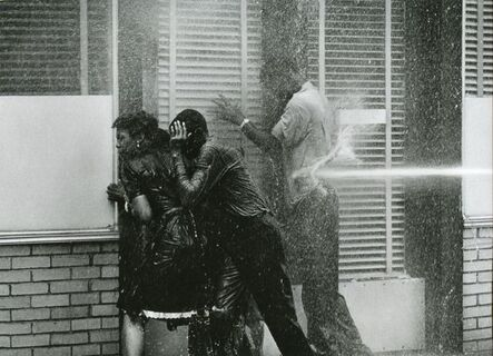 Charles Moore, 'Alabama Fire Department Aims High-Pressure Water Hoses at Civil Rights Demonstrators, Birmingham Protests, ', 1963