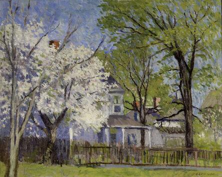 John Joseph Enneking, 'Apple Blossoms', 1841-1916