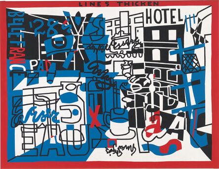 Stuart Davis, 'The Paris Bit', 1959