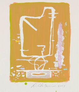Dan Christensen, 'Untitled (Tangerine)', 2003