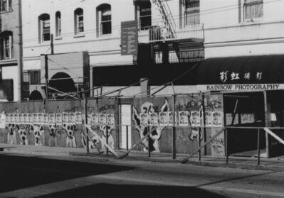 Arabella Colton, 'Wall Dogs — Rainbow Photography, Stockton St., San Francisco, 1993', 1993