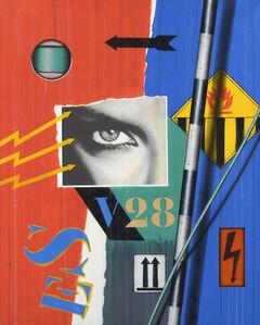 Peter Klasen, 'Black Eye V28', 2004