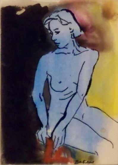 Teresa Baksa, 'Blue Nude', 1994