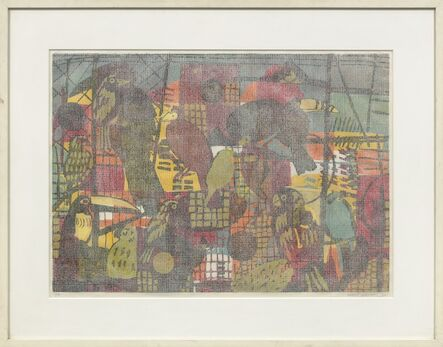 Hunt Slonem, 'Habitat', 1990