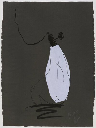 Claes Oldenburg, 'Soft Light Blub-Night', 1997
