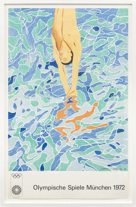 David Hockney, 'Olympic Games Munich (1970)', 1970