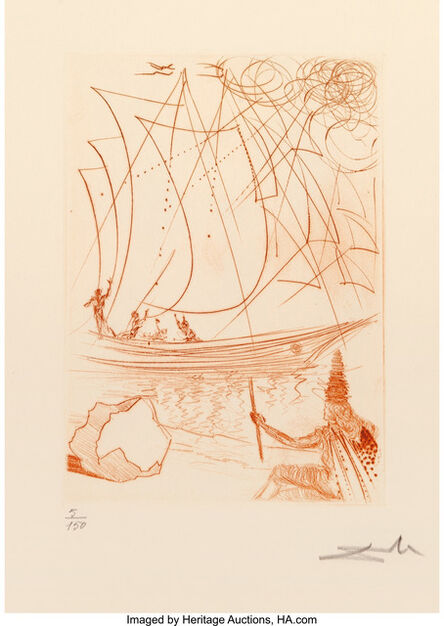 Salvador Dalí, 'Much Ado about Shakespeare Portfolio', 1968