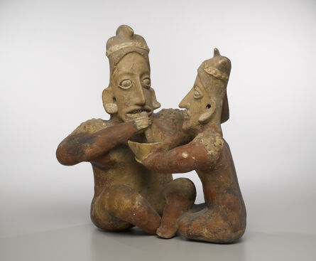 Unknown Artist, 'Seated Couple', ca. 100