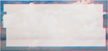 Christian Eckart, 'Long Clouds Glitched', 2019