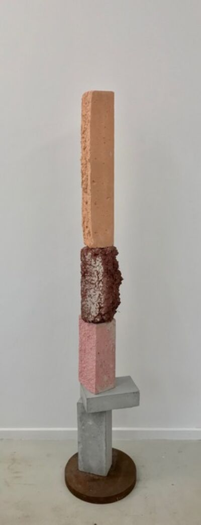 Magnus Pettersen, 'untitled (pink, brown, orange)', 2020