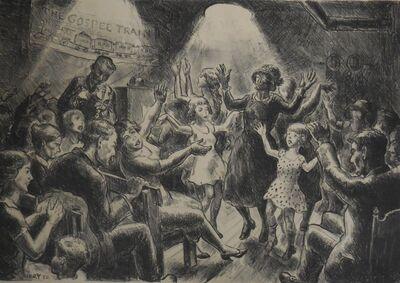 "John Steuart Curry, '""Holy Rollers"" (Gospel Train)', 1930"