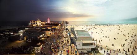 Stephen Wilkes, 'Santa Monica Pier, California', 2013