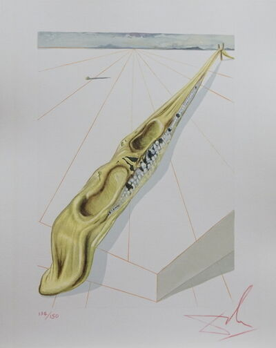 Salvador Dalí, 'Divine Comedy Hell Canto 14', 1968