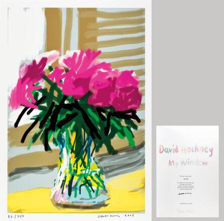 David Hockney, 'My Window Art Edition (No.1–250) No.535, 28th June 2009', 2009