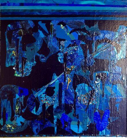 Christina Zurfluh, 'Blue Monochrome', 2019