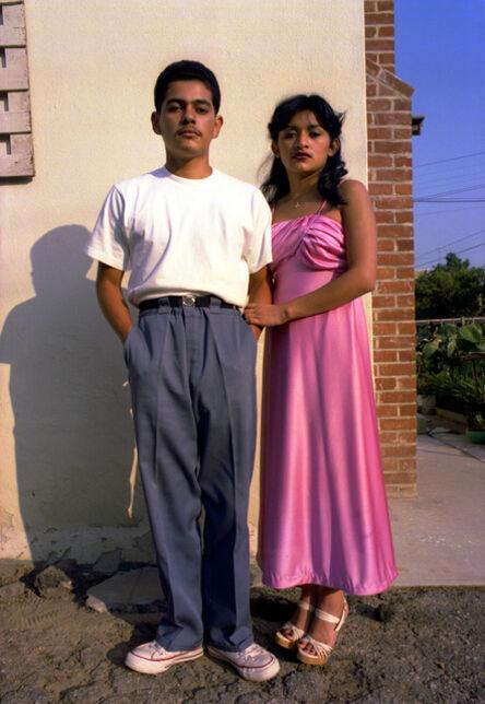 John Valadez, 'Couple Balam', 1978-80/Printed 2014