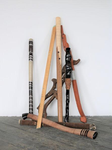 Alex Pain, 'The Brandishing Sticks ', 2019