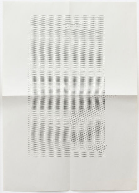 Sue Tompkins, 'Untitled (Text reads: You should know I'm not a drip)', 2012