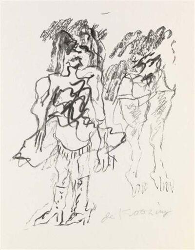 Willem de Kooning, 'Two Women', 1973